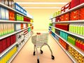Supermarket Royalty Free Stock Image