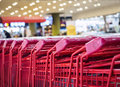 Supermarket Trolley Consumer Shopping Retail Business concept Royalty Free Stock Photo