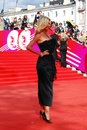 Supermodel victoria lopyreva at xxxvi moscow international film festival russia june red carpet opening ceremony Stock Photos