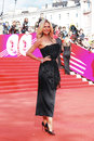 Supermodel victoria lopyreva at xxxvi moscow international film festival russia june red carpet opening ceremony Royalty Free Stock Image