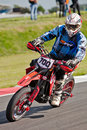 Supermoto British Nationals Stock Image