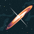 Supernova star explosion Royalty Free Stock Photo