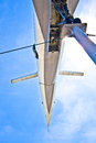Supersonic aircraft tupolev tu Royalty Free Stock Photo
