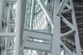 Superstructure the at the top of the human rights museum in winnipeg manitoba Stock Photography