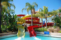 Supertube at holiday resort Royalty Free Stock Photo