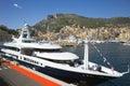 Superyacht at Monaco Stock Photography