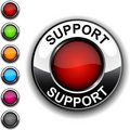 Support button. Stock Image