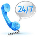 Support center call icon Royalty Free Stock Image