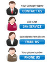 Support Contact Us Banners