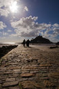 Support de rue Michael, Marazion Photo stock