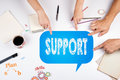 Support Donations Charity Volunteer Care Welfare Concept. The me Royalty Free Stock Photo