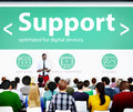Support help care cooperation assistance togetherness concept Stock Photography