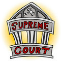 Supreme Court Royalty Free Stock Image