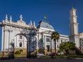 Supreme Court of Bolivia Building - Sucre, Bolivia Royalty Free Stock Photo