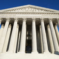 Supreme Court building Royalty Free Stock Images