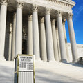 The Supreme Court building Stock Photos