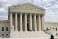 Supreme court of united states the facade the the in the form a corinthian greek temple washington dc Stock Images