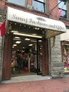 Suraj Fashions, and Gifts, Water St, Vancouver, BC Royalty Free Stock Photo