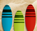 Surf boards Stock Images