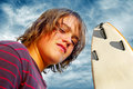 Surf Boy Royalty Free Stock Photography