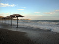 Surf in Crimea coast Royalty Free Stock Photos