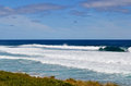 Surf kilcunda bass coast south west gippsland victoria australia Stock Image