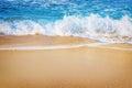 Surf on the Seashore Royalty Free Stock Photo