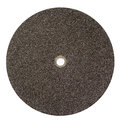 Surface black sand background universal cutting wheel texture close up use for steel isolate on white Stock Photos