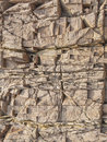 Surface of brown stone cranny background Stock Images