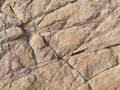 Surface of brown stone cranny background Stock Photography
