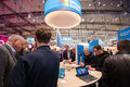 Surface stand in booth of Microsoft company at CeBIT