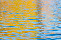 Surface of the water with ripples Royalty Free Stock Photo