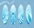 Surfboards. Stock Image