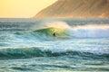 Surfer in Noordhoek Beach Royalty Free Stock Photo