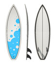 Surfing board eps illustration on white background Stock Image