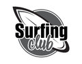 Surfing concept for shirt or logo, print, stamp.
