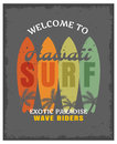 Surfing Print Or Poster