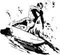 Surfing - Water Sport Royalty Free Stock Images