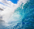 Surfing Wave Royalty Free Stock Photo
