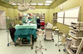Surgery in operating room Stock Images