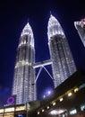 Suria KLCC & Petronas Twin Towers Royalty Free Stock Photo