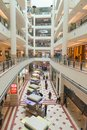 Suria KLCC shopping mall in Petronas Twin Towers. Royalty Free Stock Photo