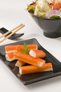 Surimi sticks Royalty Free Stock Images