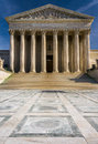 The Surpreme Court Building, in Washington, DC. Royalty Free Stock Photo