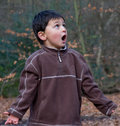 Surprised Boy Stock Photography