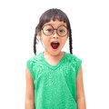 Surprised face Royalty Free Stock Photo