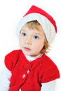 Surprised santa Royalty Free Stock Photography