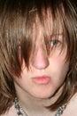 Surprised Teen Pucker Royalty Free Stock Photo