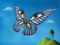 Surreal butterfly Royalty Free Stock Photo