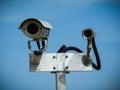 Surveillance cameras Royalty Free Stock Photo